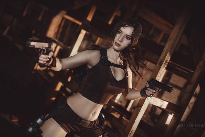 Pipup Girl Wallpaper Lara Croft From Tomb Raider Underworld Cosplay