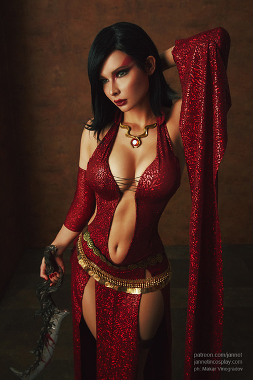 3d Superwoman Wallpaper Kaileena From Prince Of Persia Cosplay