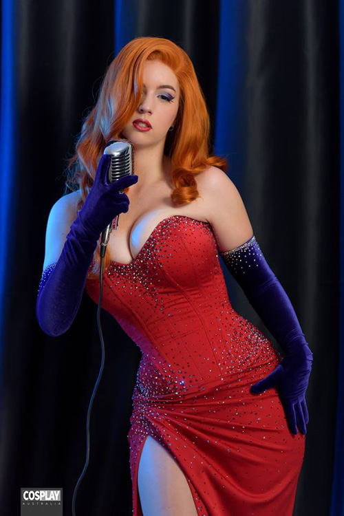 Wallpapers Of Cool Girls Jessica Rabbit Cosplay