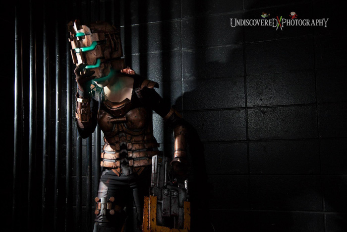 Wallpaper Girl Nerd Isaac Clarke From Dead Space Cosplay