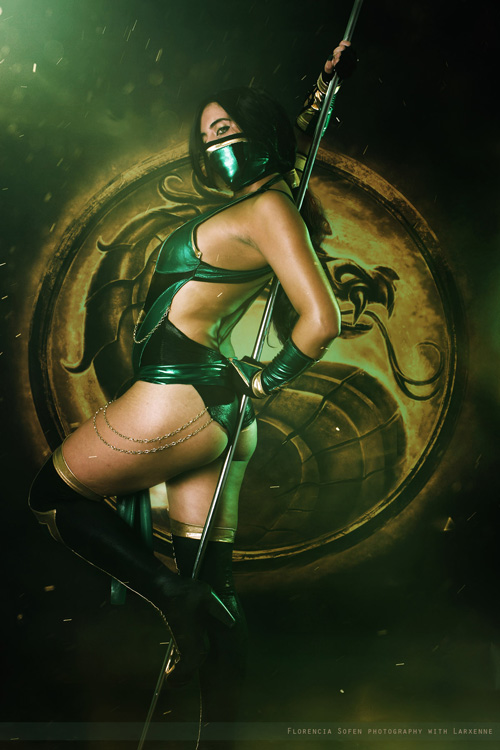 Epic Fantasy Girl Wallpaper Jade From Mortal Kombat Ix Cosplay
