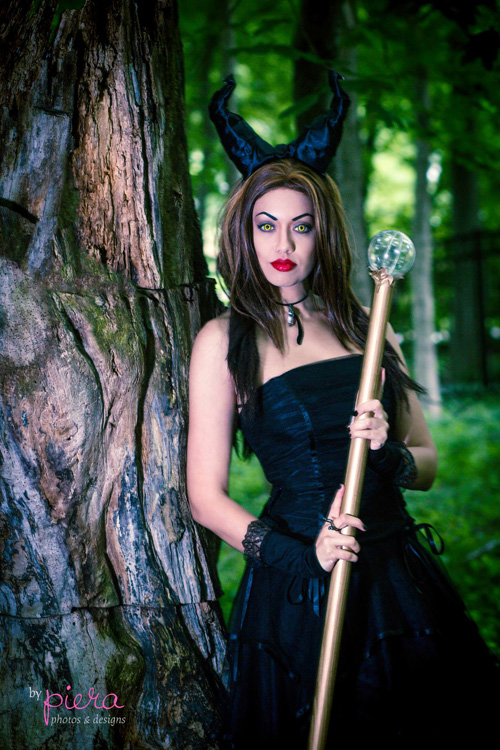 Sexey Girl Wallpaper Couture Maleficent Cosplay