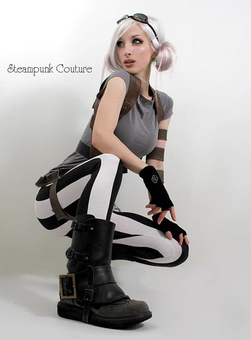 Beautiful Emo Girl Wallpaper Steampunk Couture