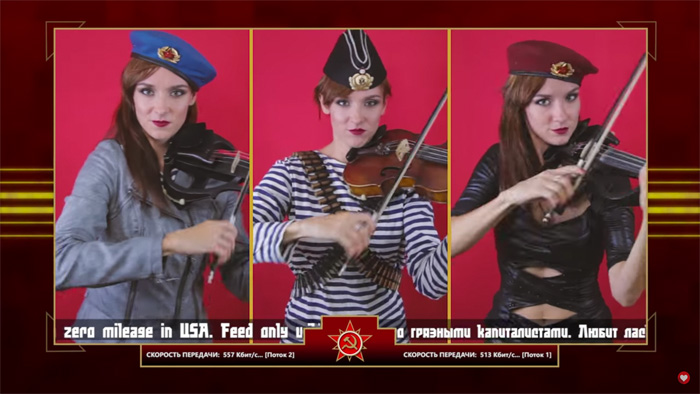 Geek Girl Wallpaper C Amp C Red Alert 3 Theme Soviet March Violin Cover
