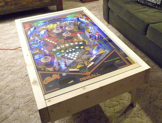 Couchtisch Home 24 Diy Pinball Machine Coffee Table