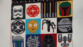 Star Wars pillow and blanket