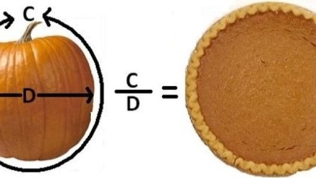 What do you get when you divide a pumpkin's circumference by its diameter? Pumpkin pi!