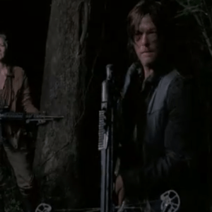 Carol and Daryl in Seaon 5 trailer The Walking Dead