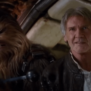 star wars han solo and chewie