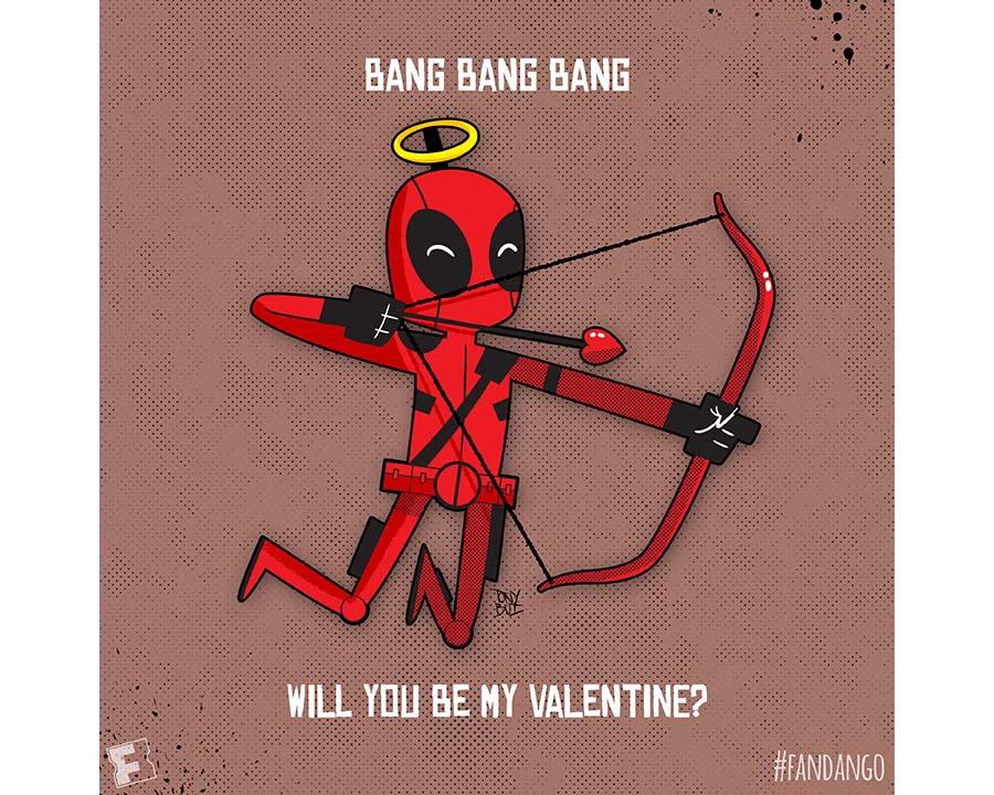 Bang Bang Bang! Deadpool Valentine