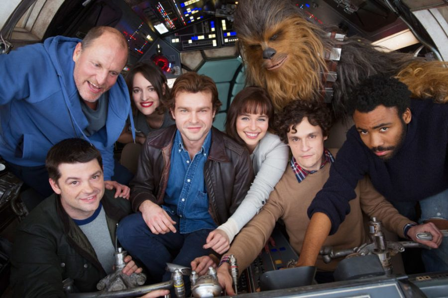 Han Solo Movie Cast Photo. Photo credit: Jonathan Olley ©2017 Lucasfilm Ltd.