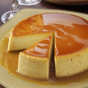 Taste Of Home: Flan - Look At Dat Slice!