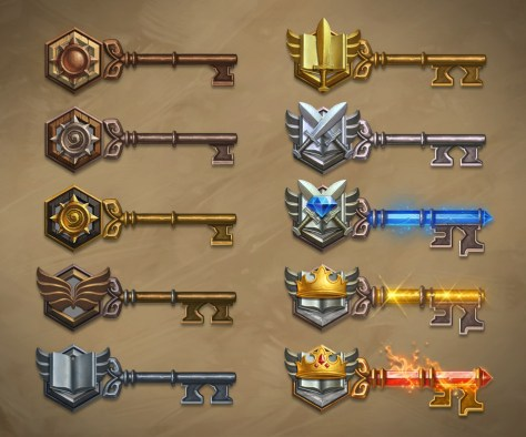 Hearthstone - Arena Mode - 10 Key Levels