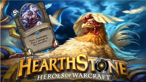 Hearthstone - Angry Chicken and Abomination Minions