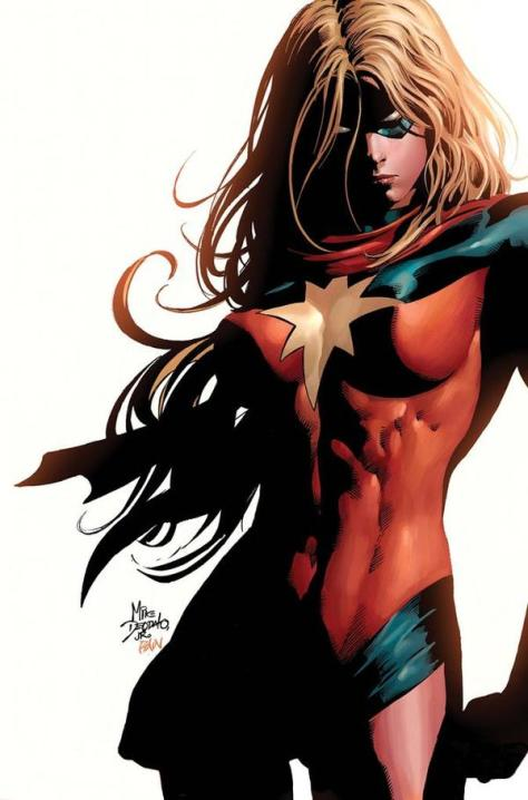 Ms. Marvel..  Or Is That Moonstone?