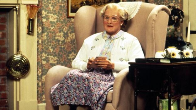 MRS. DOUBTFIRE, Robin Williams, 1993