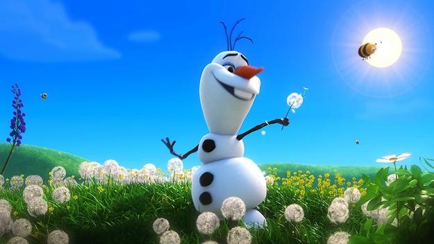 Funny-Olaf-Snowman-in-Summer-HD-Wallpaper