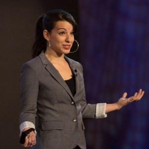 TEDxWomen speaker Anita Sarkeesian. December 1, 2012 in Washington, DC. Photo: Ryan Lash