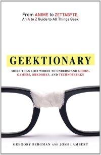 Geektionary Book Cover Lambert Bergman