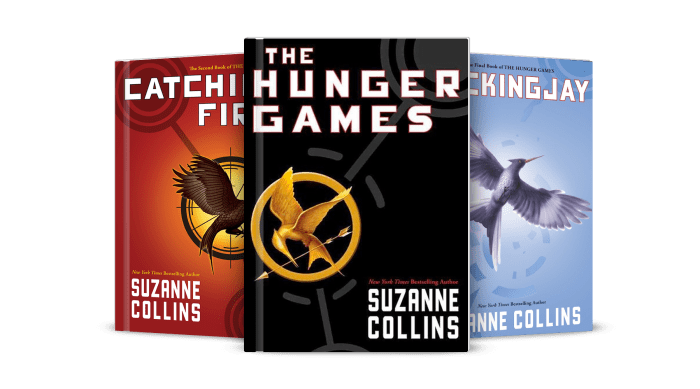 Image result for the hunger games series books
