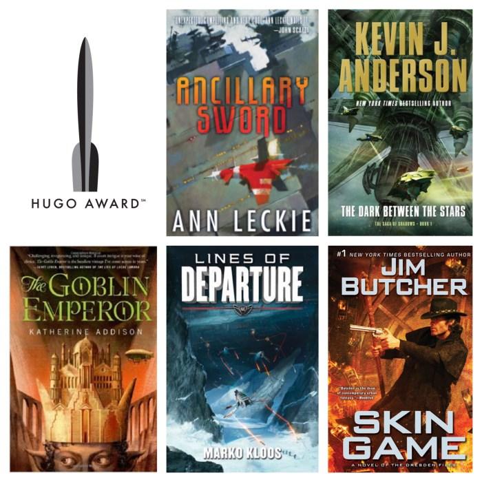 2015 Hugo Award Best Novel Nominees