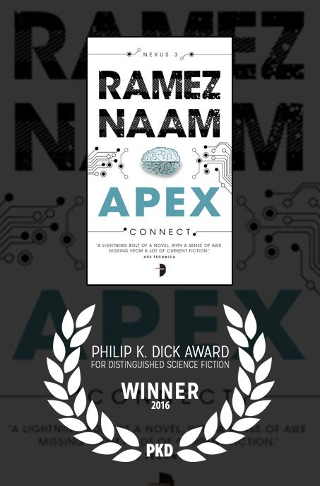Winner of the Philip K. Dick Award