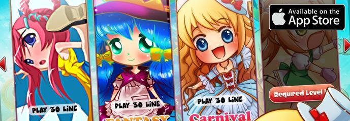 Anime Slot Machines