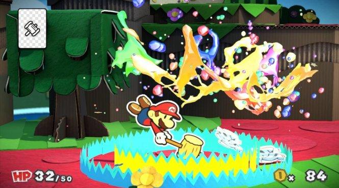 Anunciado 'Paper Mario: Color Splash' para Wii U