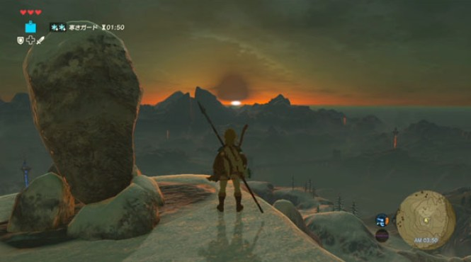 40 minutos de gameplay de 'The Legend of Zelda: Breath of the Wild'