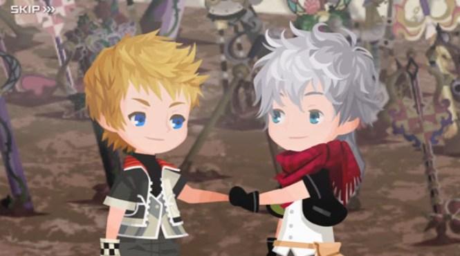 Confirmada la actualización de 'Kingdom Hearts Unchained χ'