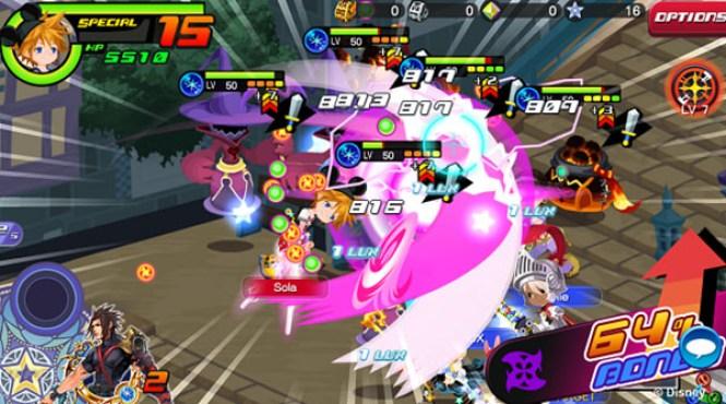 'Kingdom Hearts Union X' ya está disponible para dispositivos móviles