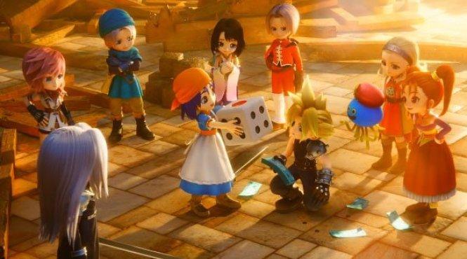 'Itadaki Street Dragon Quest and Final Fantasy 30th Anniversary' llegará en octubre a Japón