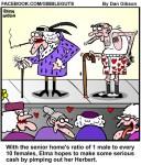 Love for sale in senior home