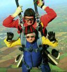 Daredevil paragliding grandmother