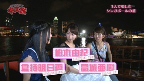 【AKB48】テレ東でAKB柏木,高城,倉持がプールで谷間ビキニ祭りキタ━(●∀●)━!
