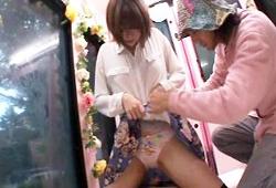 今まで順風満帆に過ごしてきた名門大学に通う女子大生がマジックミラー号でエラい目に遭うwww