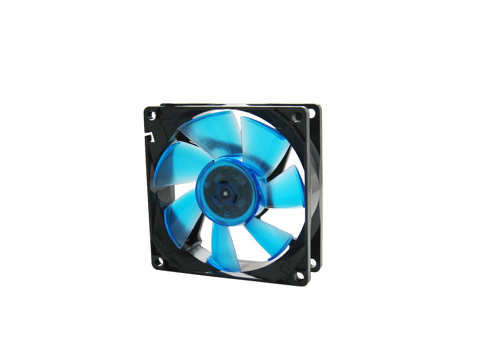 Ventilator Ohne Rotor Gelid Solutions Wing 8 Uv Blue