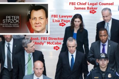 Image result for Embattled FBI Officials Lisa Page & James Baker Resign Amid Treasonous Revelations In Collusion Investigation
