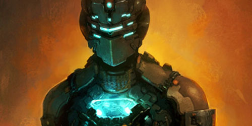 Kings Fall Wallpaper Dead Space 2 Artwork Suits Up Bad Ass Armor Gematsu