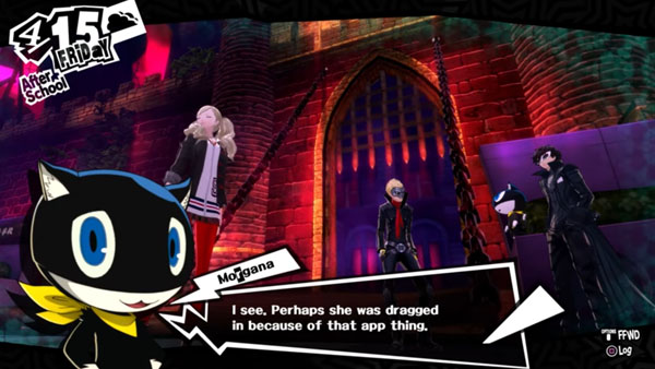 Persona 5 Wallpaper Morgana Cute 11 Minutes Of English Persona 5 Gameplay Gematsu