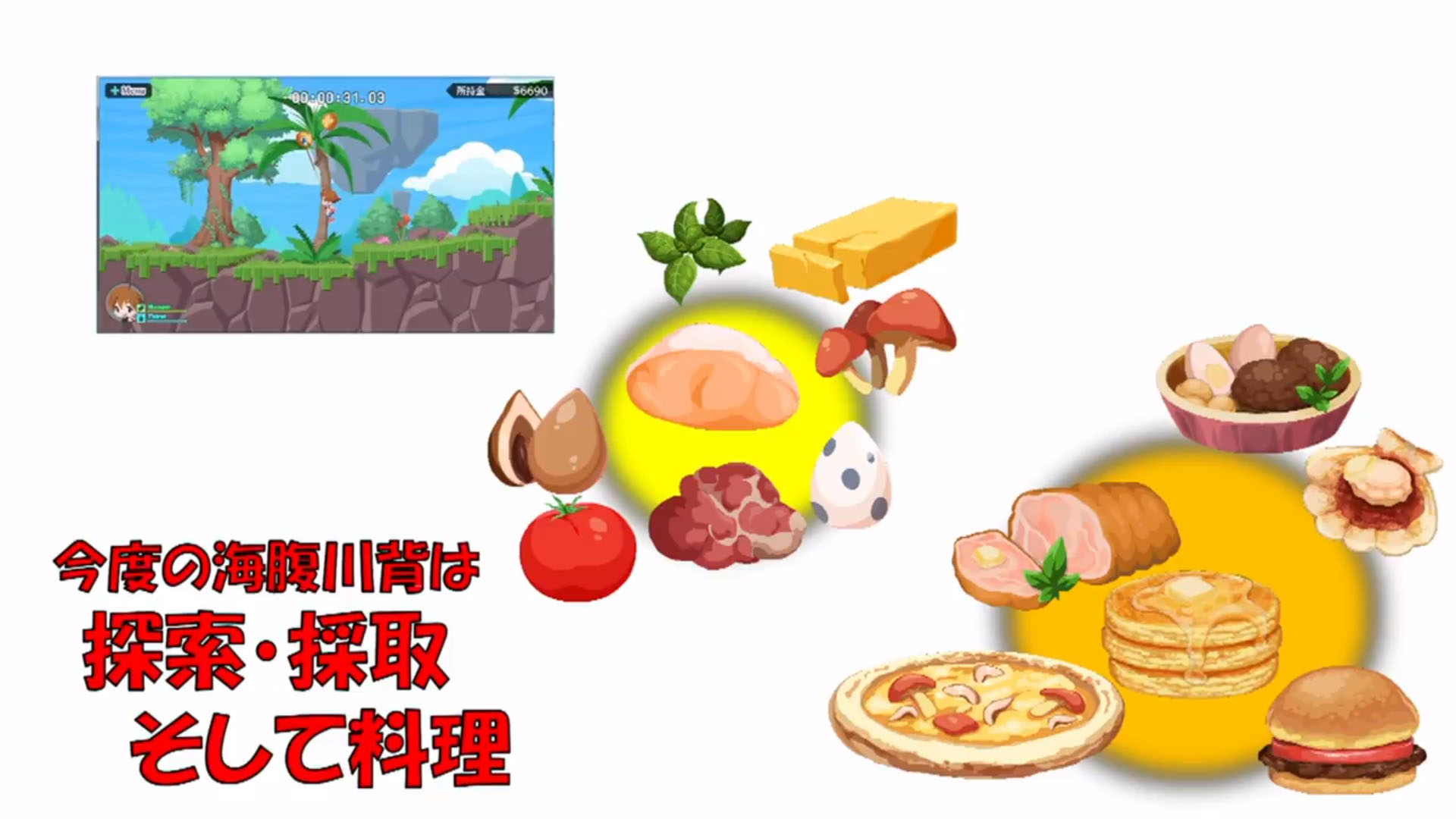 Cuisine Gameplay Umihara Kawase Fresh Tgs 2018 Gameplay Todaygame Online