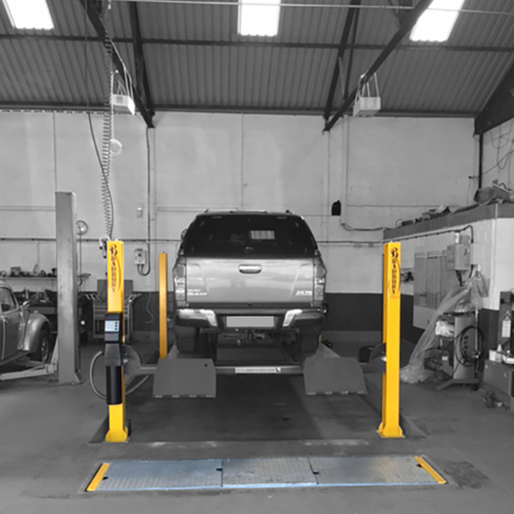 In Ground Garage Car Lift Bradbury Celebrating 123 Years Of Quality Garage Equipment