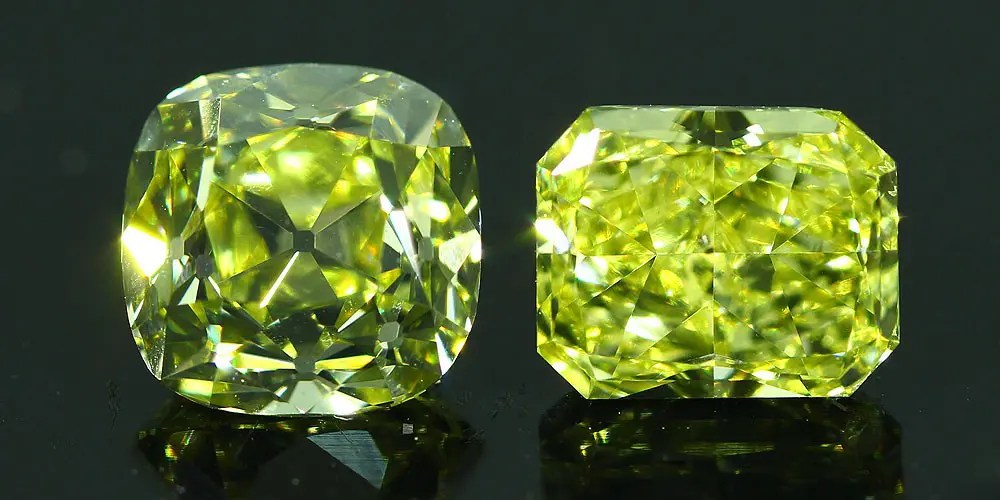 Cutting Fancy Color Diamonds - Vintage vs Modern Designs