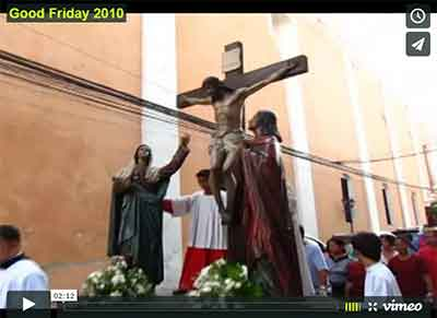 Good Friday Parade (Holy Week 2010)- Intramuros, Manila, Philippines