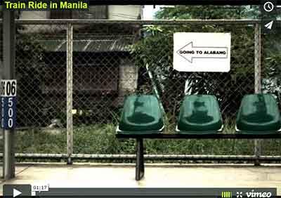 Train Ride in Manila