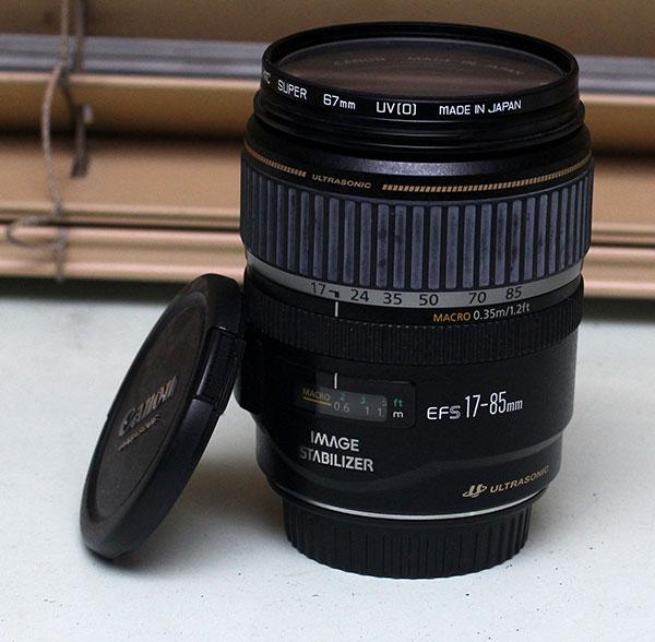 Canon EF-S 17-85 mm f/4-5.6 walk around zoom
