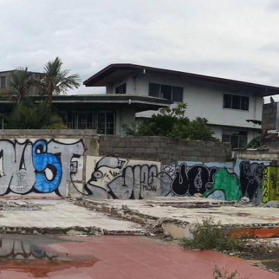 Malinggap St. graffiti