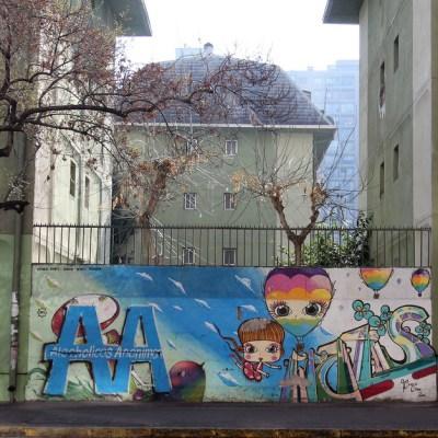 Alcoholics Anonymous graffiti