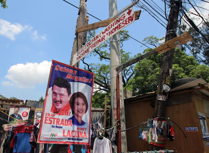 photos from the run up to the Philippine elections 2016