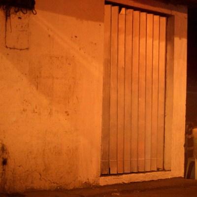 new year's eve 2007 street corner at night